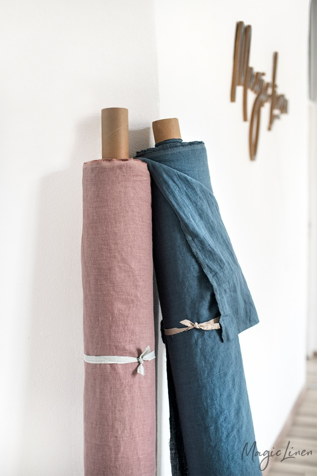 Cut-to-length linen fabric