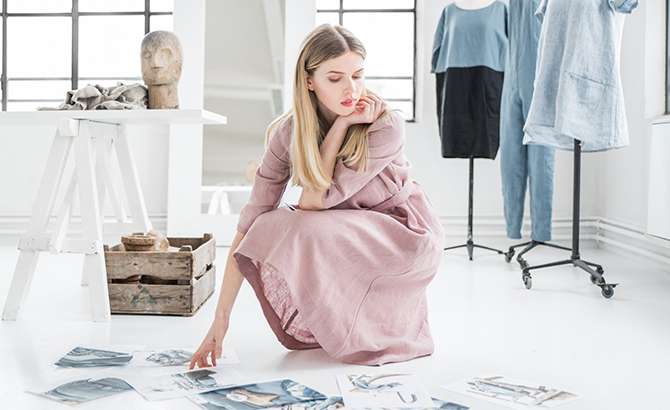 Summer-Bound: 2018 Linen Clothing Collection