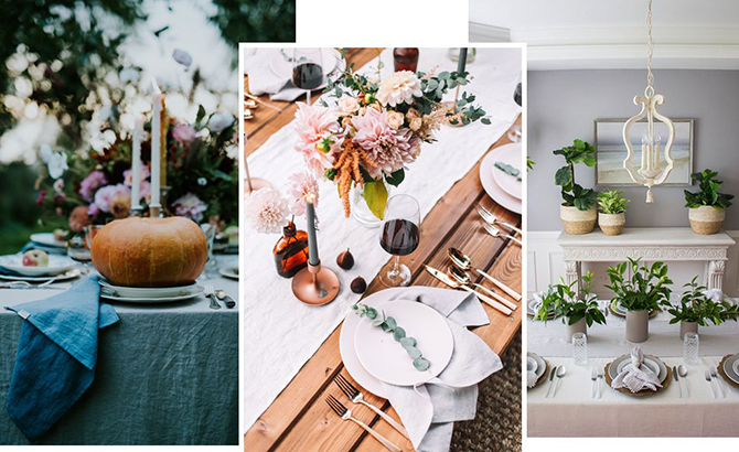 4 Steps To An Elegant Thanksgiving Table Setting Magiclinen - Thanksgiving-table-cloth