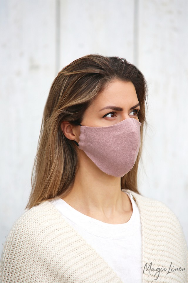 Linen Face Mask Bundle of 5