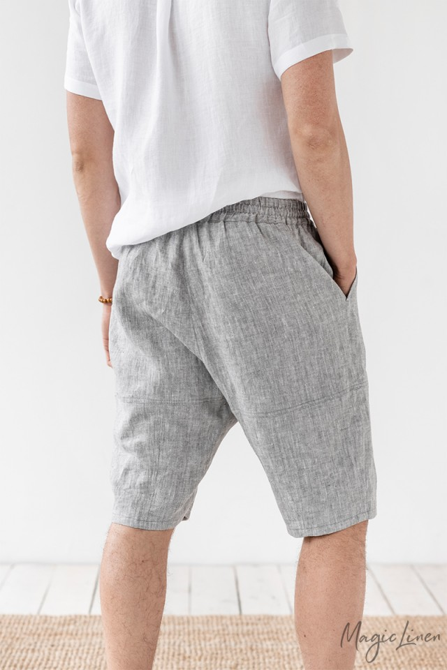 Men's linen shorts Kotor