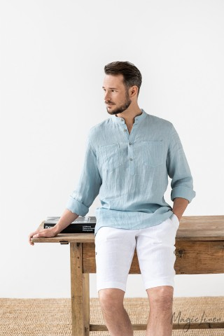 Men's linen shirt PORTREE