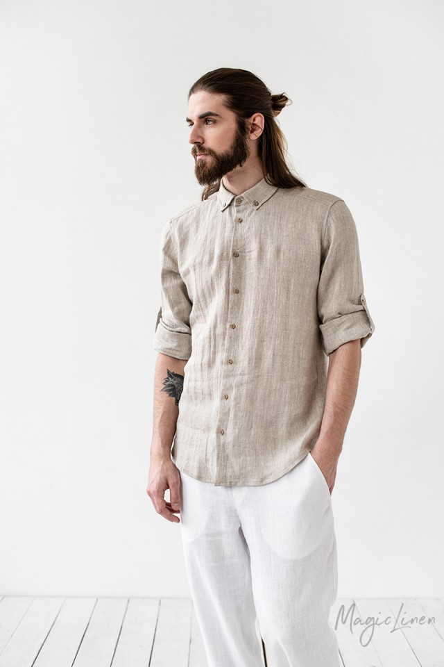 Men's linen shirt Bilbao