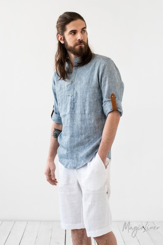 Men's linen shirt Turin