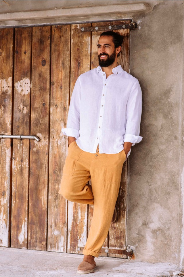 Men's linen pants FERNIE