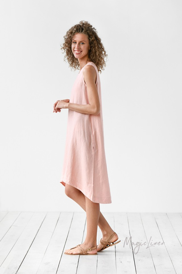 Royal Toscana linen dress