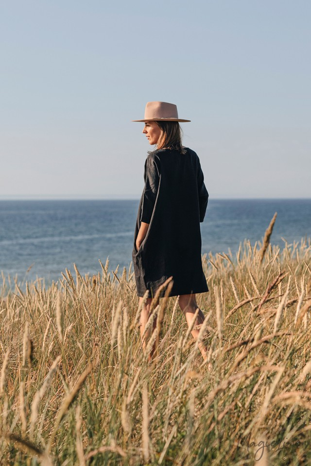 Relaxed fit linen dress ARUBA