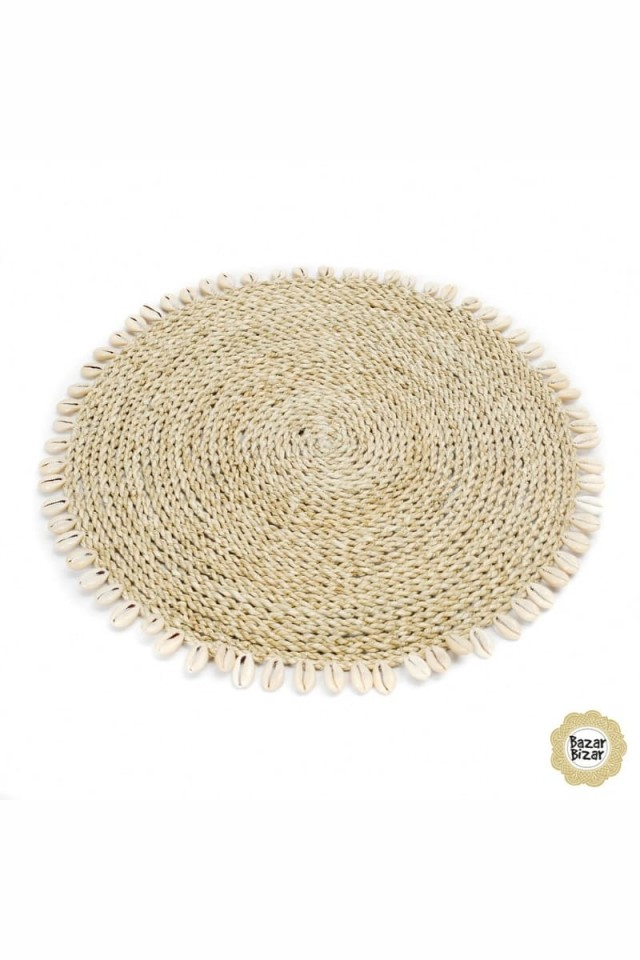 The Seagrass Shell Placemat