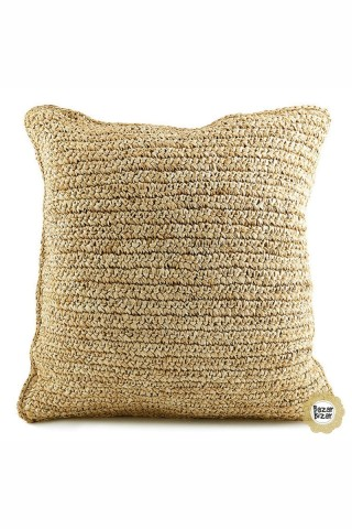Raffia Pillowcase
