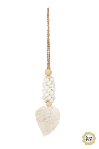 The Leaf & Shell Tassel