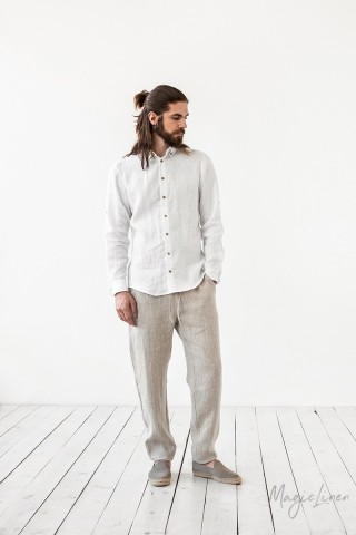 Men's linen pants Palermo