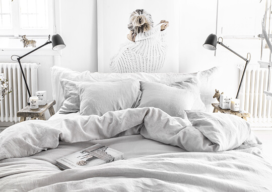 Linen Bedding | Stone Washed Bed Linens | MagicLinen