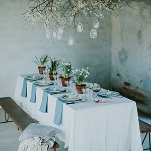 Inspiration for a Classy Easter Table Setting